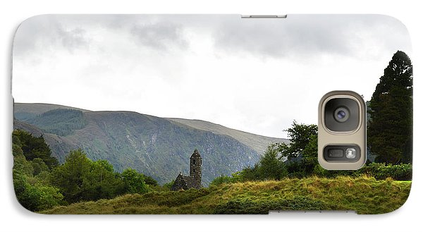 Galaxy Case featuring the photograph Wicklow Mountains by Terence Davis