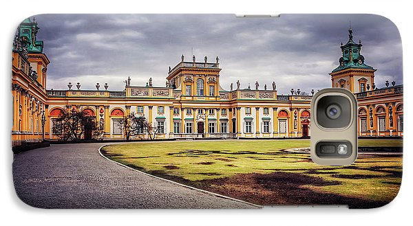 Galaxy Case featuring the photograph Wilanow Palace In Warsaw  by Carol Japp