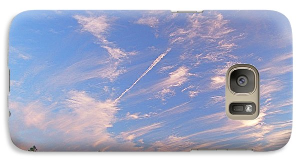 Galaxy Case featuring the photograph Wild And Crazy Sky by John Norman Stewart