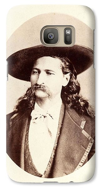 Galaxy Case featuring the photograph Wild Bill Hickok by Pg Reproductions