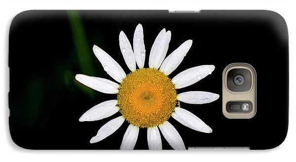 Galaxy Case featuring the digital art Wild Daisy by Chris Flees
