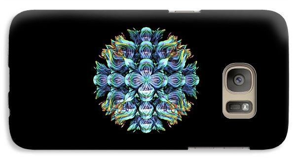 Galaxy Case featuring the digital art Wild Flower by Lyle Hatch