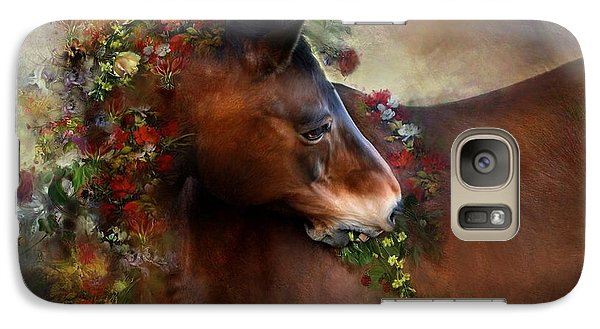 Galaxy Case featuring the digital art Wild Flowers by Dorota Kudyba