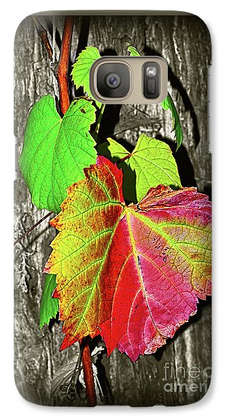 Galaxy Case featuring the photograph Wild Grape Vine II By Kaye Menner by Kaye Menner