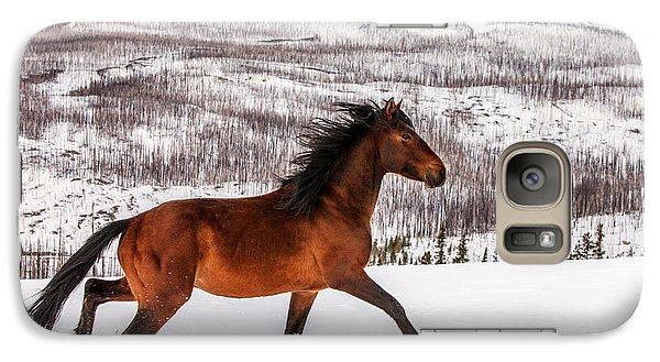Wild Horse Galaxy S7 Case by Todd Klassy