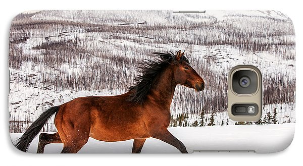 Wild Horse Galaxy S7 Case by Todd Klassy
