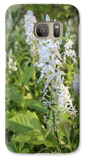 Galaxy Case featuring the photograph Wild Hyacinth by Scott Kingery