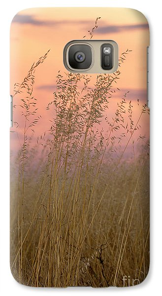 Galaxy Case featuring the photograph Wild Oats by Linda Lees