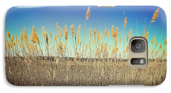 Galaxy Case featuring the photograph Wild Sea Oats by Colleen Kammerer