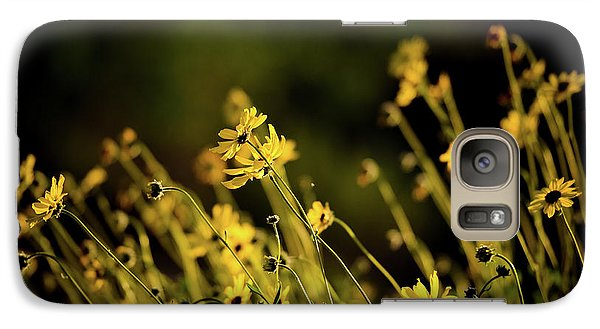 Galaxy Case featuring the photograph Wild Spring Flowers by Kelly Wade