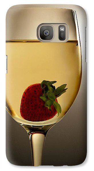 Galaxy Case featuring the photograph Wild Strawberry by Joe Bonita