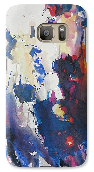 Galaxy Case featuring the painting Wild Wild Horses by Robert Joyner