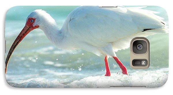 Ibis Galaxy S7 Case - Wild Winds by Betsy Knapp