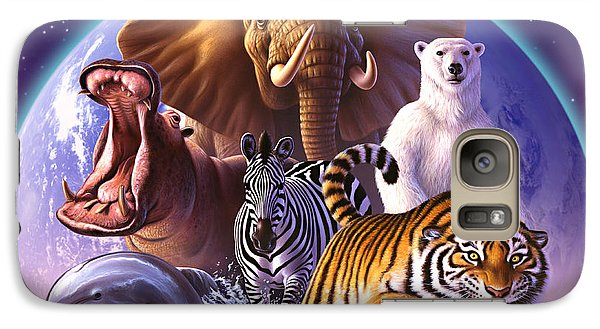 Wild World Galaxy Case by Jerry LoFaro