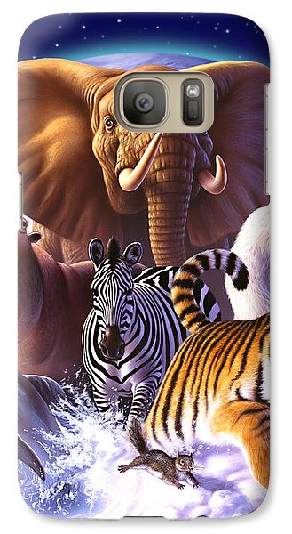 Wild World Galaxy S7 Case by Jerry LoFaro