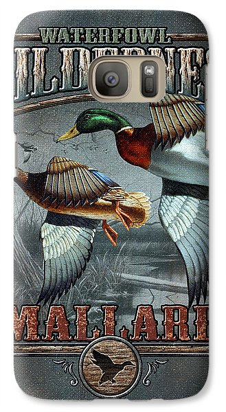 Wilderness Mallard Galaxy S7 Case