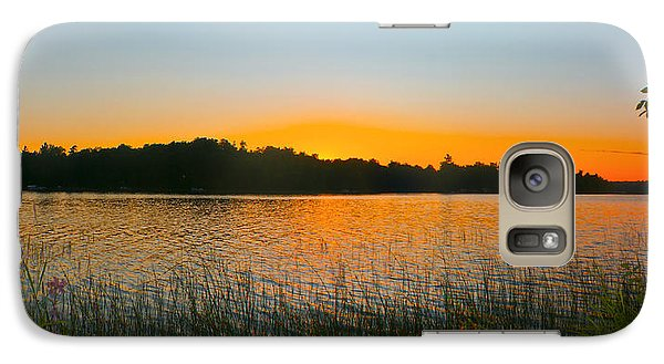 Wilderness Point Sunset Panorama Galaxy S7 Case