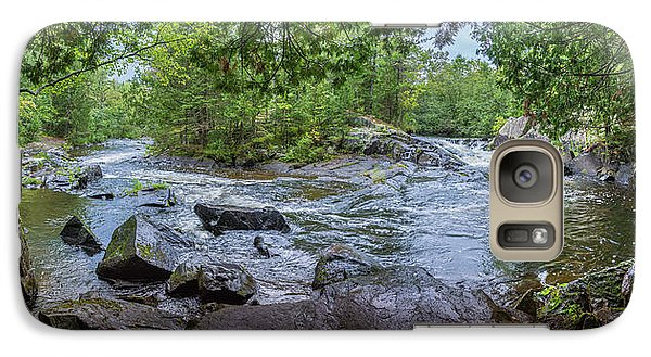 Galaxy S7 Case featuring the photograph Wilderness Waterway by Bill Pevlor
