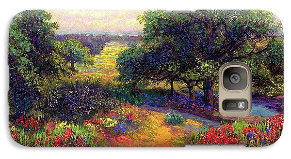 Wildflower Meadows Of Color And Joy Galaxy S7 Case