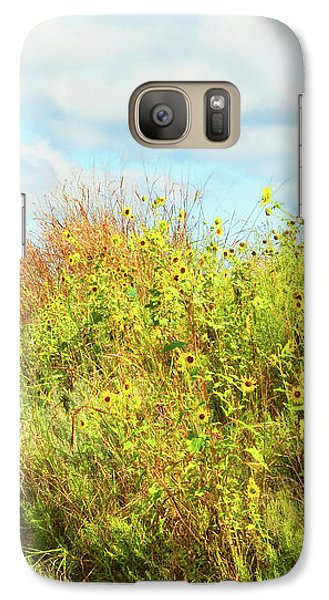 Galaxy Case featuring the photograph Wildflowers Along A Country Road  Photography  by Ann Powell