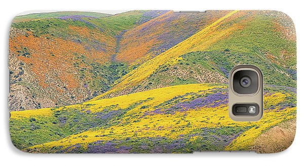 Galaxy Case featuring the photograph Wildflowers At The Summit by Marc Crumpler