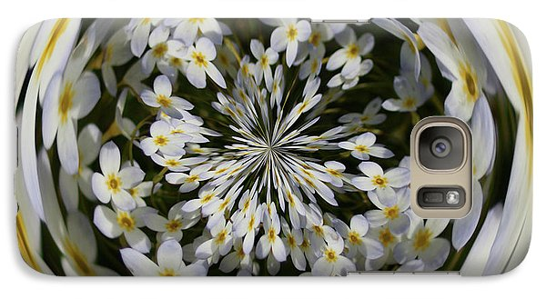 Galaxy S7 Case featuring the photograph Wildflowers Orb by Bill Barber
