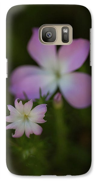 Galaxy Case featuring the photograph Wildflowers by Roger Mullenhour