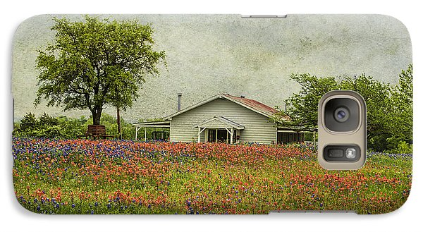 Galaxy Case featuring the photograph Wildflowers Texas by Elena Nosyreva