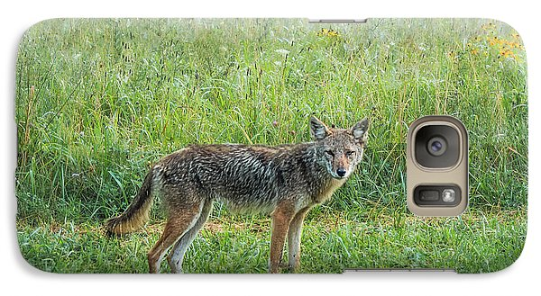 Galaxy Case featuring the photograph Wiley by Jessica Brawley