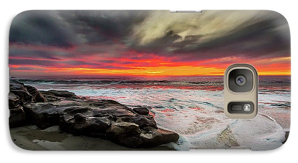 Galaxy Case featuring the photograph Will Of The Wind by Peter Tellone