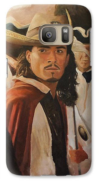 Orlando Bloom Galaxy S7 Case - Will Turner by Caleb Thomas