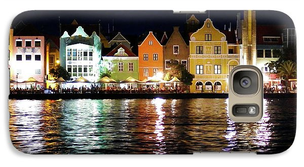 Galaxy Case featuring the photograph Willemstad, Island Of Curacoa by Kurt Van Wagner