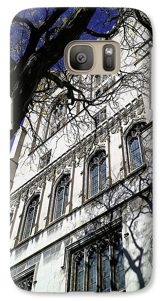 Galaxy Case featuring the photograph William Rainey Harper Memorial Library by Scott Kingery