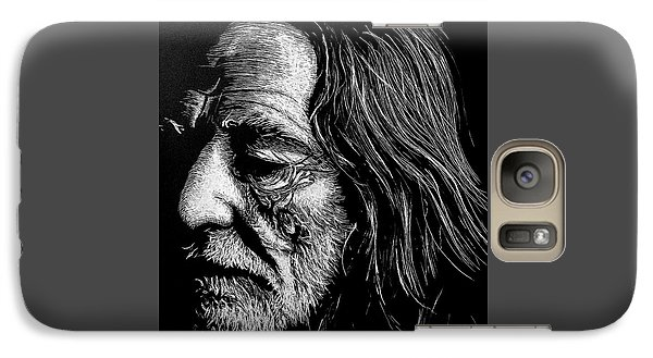 Galaxy Case featuring the photograph Willie by Paul Foutz