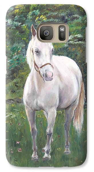 Galaxy Case featuring the painting Willow by Elizabeth Lock