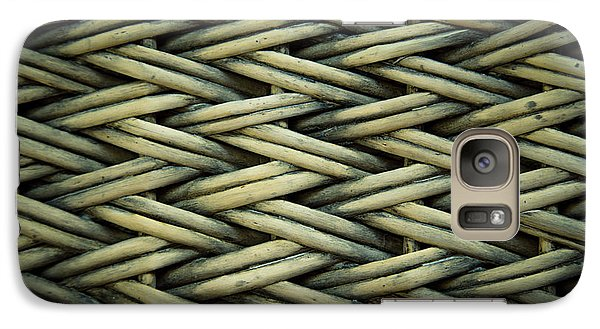 Galaxy Case featuring the photograph Willow Weave by Les Cunliffe