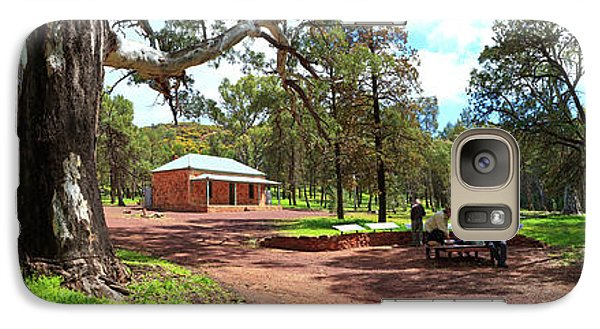 Galaxy Case featuring the photograph Wilpena Pound Homestead by Bill Robinson