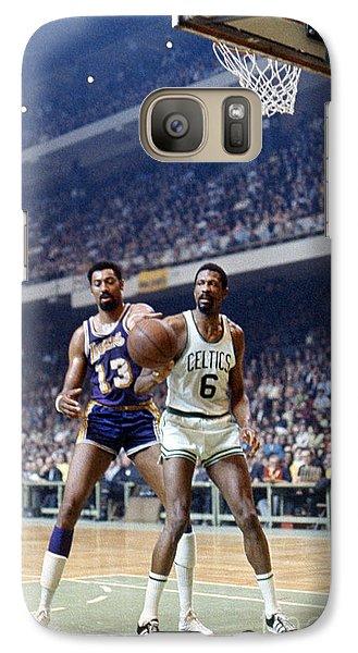Wilt Chamberlain (1936-1999) Galaxy S7 Case by Granger