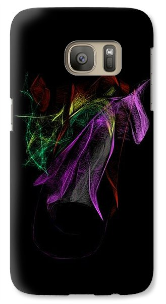 Galaxy S7 Case - Wilted Tulips by Kerri Thompson