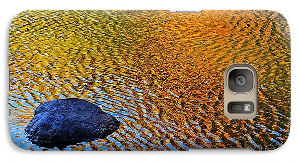 Galaxy Case featuring the photograph Wind On Water by Aimelle