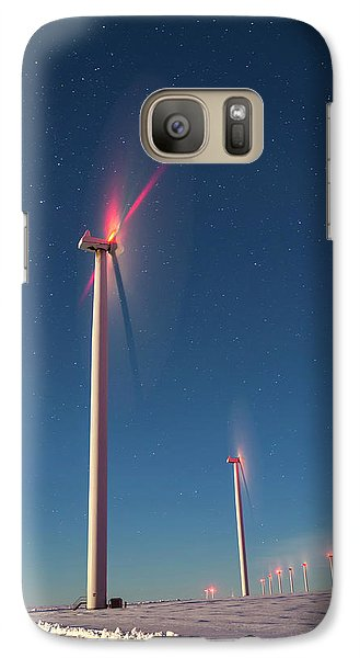 Galaxy Case featuring the photograph Wind Power by Cat Connor