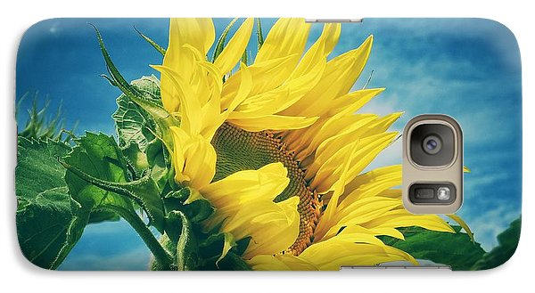 Galaxy Case featuring the photograph Windblown  by Karen Stahlros