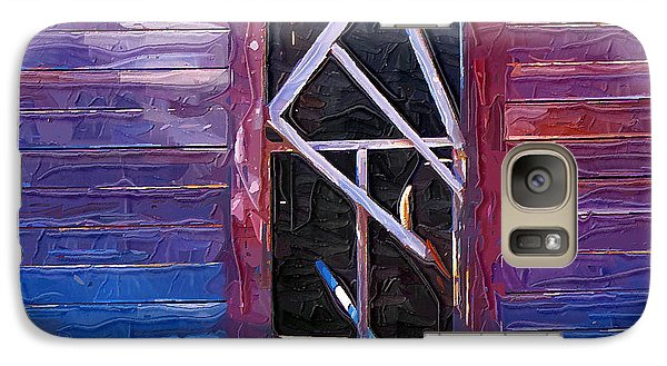 Galaxy Case featuring the photograph Window-1 by Susan Kinney