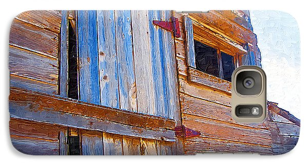 Galaxy Case featuring the photograph Window 3 by Susan Kinney