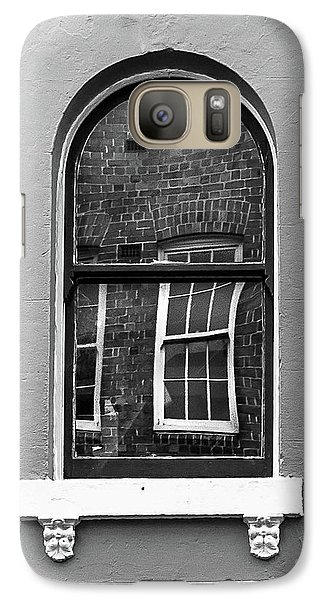 Galaxy Case featuring the photograph Window And Window by Perry Webster