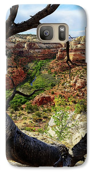 Galaxy Case featuring the photograph Window by Chad Dutson