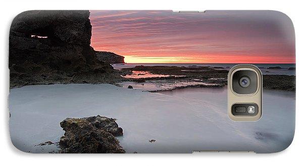Kangaroo Galaxy S7 Case - Window On Dawn by Mike  Dawson