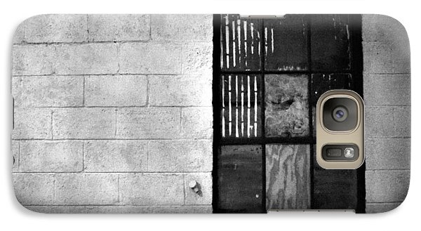 Galaxy Case featuring the photograph Window Pains by Jeanette O'Toole