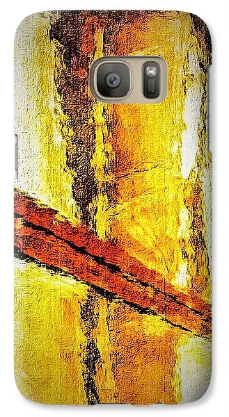 Galaxy Case featuring the photograph Window by William Wyckoff