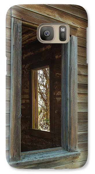 Galaxy Case featuring the photograph Windows by Angie Vogel